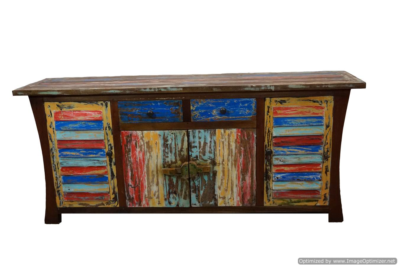 coloured-sideboard
