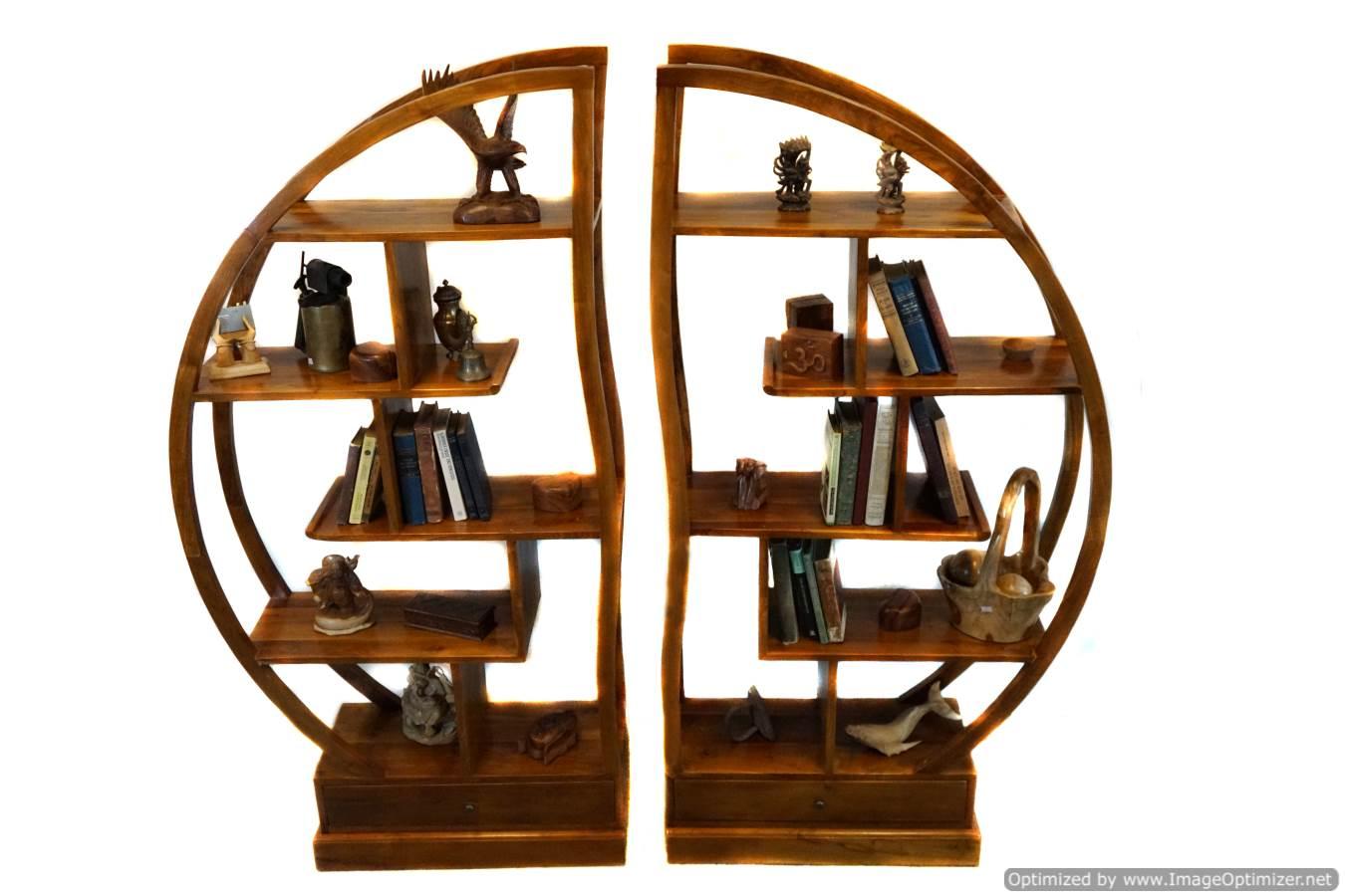 round-shelves